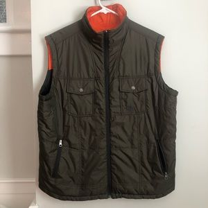 Reversible The North Face Vest, Size Large